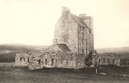 Corgarff Castle in 1905