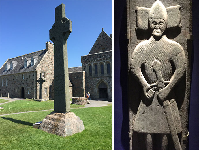 iona abbey warrior