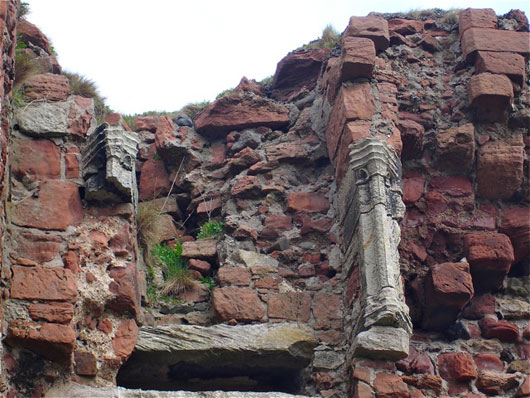 Ardrossan Castle Fireplace
