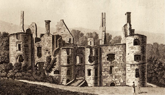 Boyne Castle in 1790