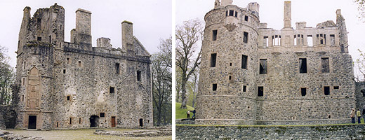 Huntly Castle - A long and violent history