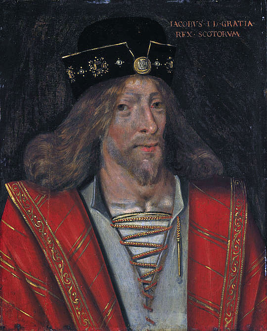 King James I of Scotland
