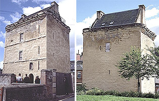 Newmilns Tower - dates from around 1525