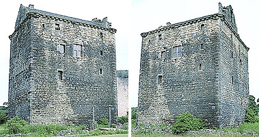 Niddry Castle - restored & occupied