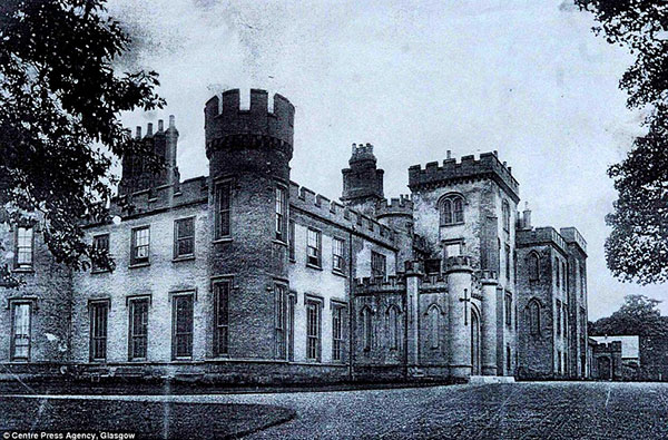 Johnstone Castle - as it was originally
