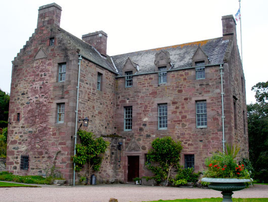 Fingask Castle present day