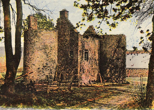Terpersie Castle - before restoration