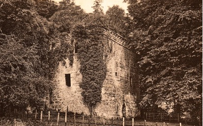 Castle Levan around the year 1900