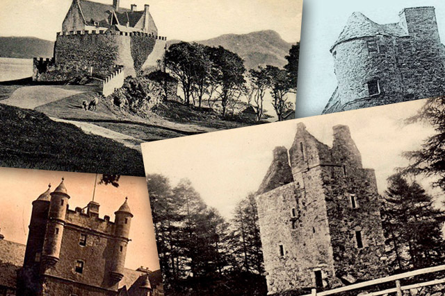 Castle Postcard Collection